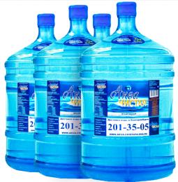 "Вода ""Аква чистая"" 4 бутыли по 19л."