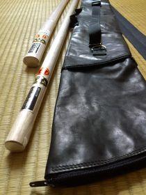 Чехол для бокена, дзе, танто из Японии (AIKI) модель - LEATHER