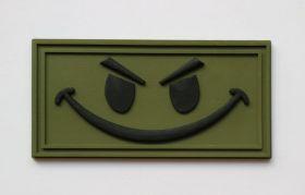EVIL SMILE (SEAL team) злобный смайл, нашивка ПВХ PVC