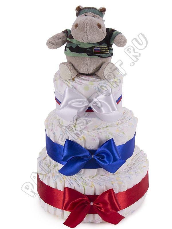 """Памперс торт """"ПАТРИОТ"""""""