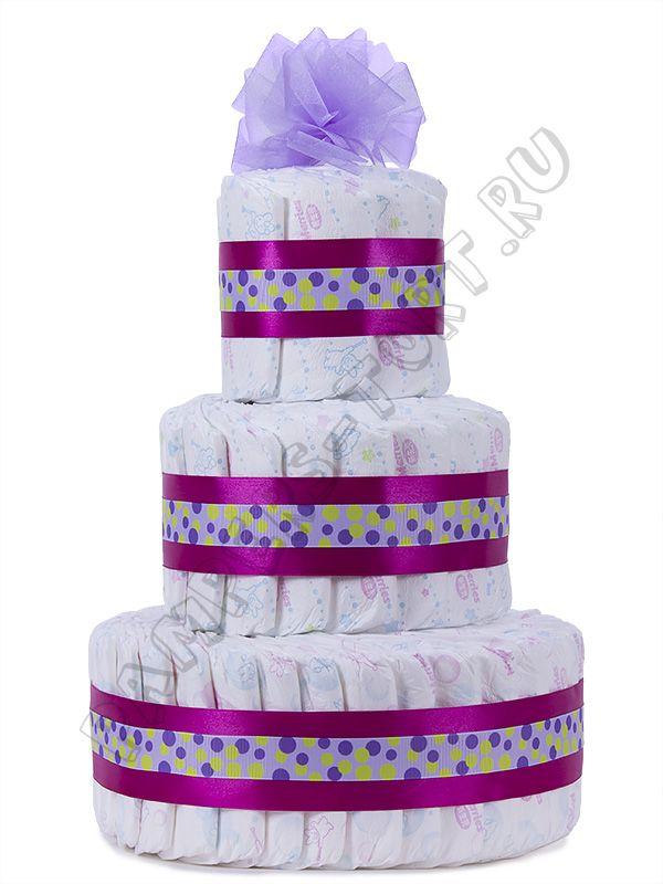 """Памперс торт """"ХЕЛЬГА"""""""