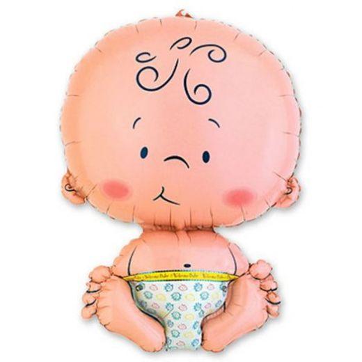 Малыш - воздушный шар для новорожденных