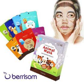 Berrisom Animal Mask Series Set 7p - Маска тканевая набор 7 шт.
