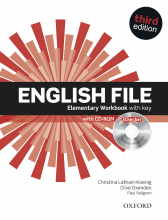 English File 3rd Elementary Workbook with key and iChecker CD