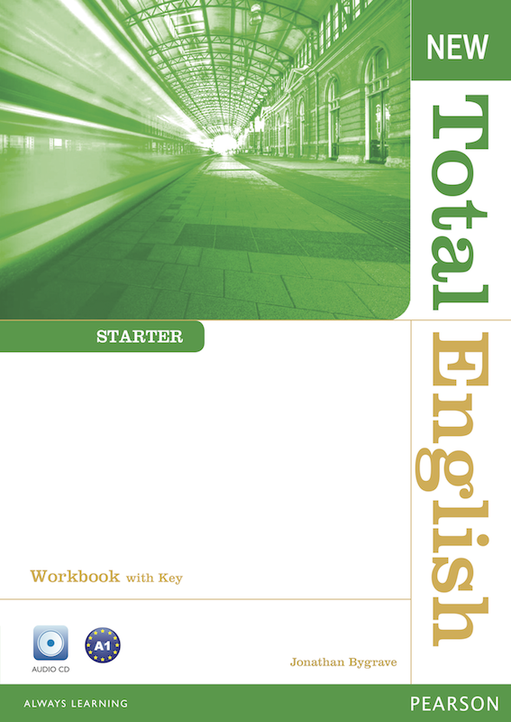 New Total English Starter Workbook with Key and Active Book Class&Workbook MP3 CD
