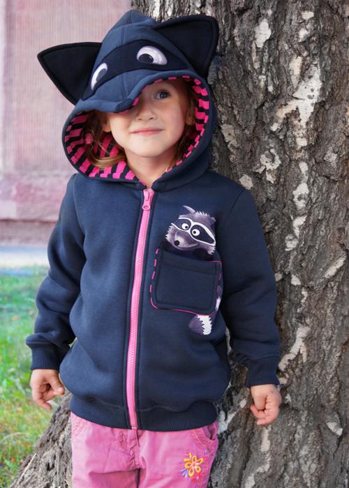 Детский свитшот Крошка Енот