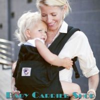 ERGO BABY CARRIER ORGANIC COLLECTION Black BCO00101
