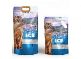 SAVANNA ICE наполнитель силикагелевый Цветочный