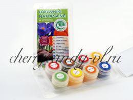 Набор красителей сухих натуральных Food Colours 8 шт х 3 гр