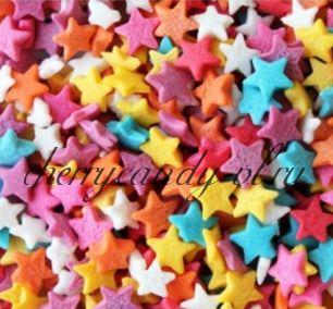 Посыпка Звезды, 5 мм