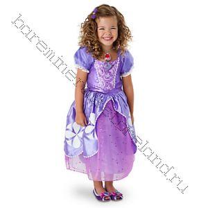Платье костюм принцессы Софии рост 98 (3 года), 104 (4 года), 116 см 5/6 лет
