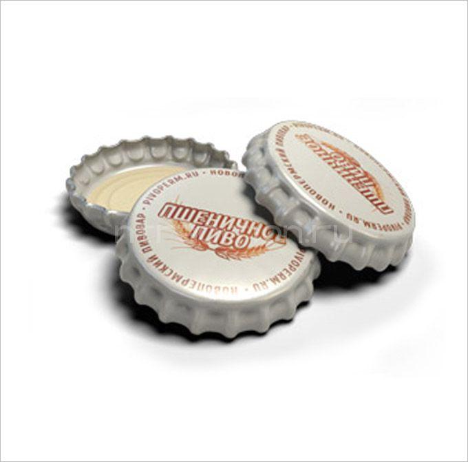 "Кроненпробки 6.75 мм, ""Пшеничное пиво"", 100 шт"