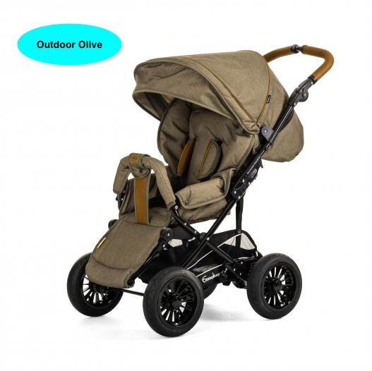 Прогулочная коляска Emmaljunga Scooter 4/ 4 AIR