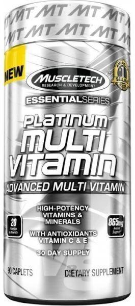 MuscleTech Platinum 100% Fish Oil 100 капсул (Рыбий Жир)