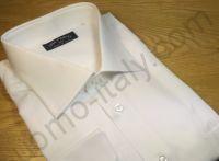 Рубашка мужская Avia Pervia белая шелковистая (последний размер 48)(арт.F246-1)