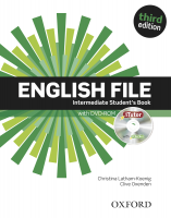 English File 3rd Intermediate Students Book with iTutor DVD-ROM