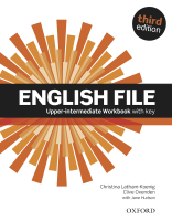 English File 3rd Upper-intermediate Workbook with key