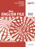 New English File Elementary Workbook with key and MultiROM Pack