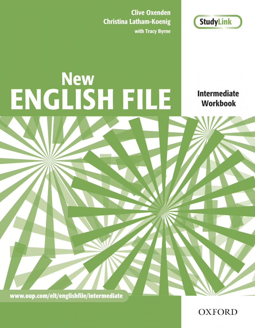 New English File Intermediate Workbook and MultiROM Pack