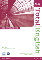 New Total English Pre-Intermediate Workbook with Key and Audio CD
