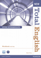 New Total English  Upper Intermediate Workbook with Key and Audio CD