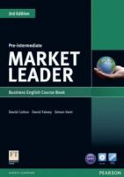 Market Leader Pre-intermediate 3rd Edition Course Book and DVD-ROM Pack