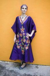 Шелковое платье фиолетового цвета (Москва)