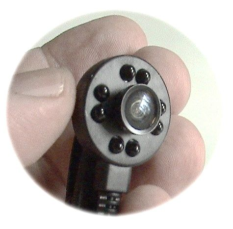 Мини-камера аналоговая с инфракрасной подсветкой