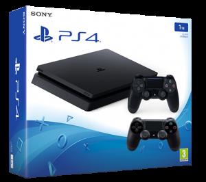 Игровая приставка Sony Playstation 4 Slim 1 ТБ CUH-2008B + Dualshock 4