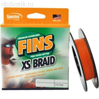 Плетеный шнур Fins Extra Smooth 150yds 10lb