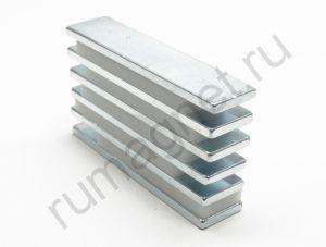 Неодимовые магниты 64x15х3 мм