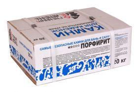 Порфирит колотый 20 кг, коробка