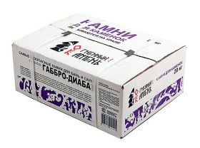 Габбро-диабаз 20 кг, коробка