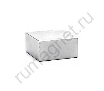 Неодимовый магнит прямоугольник 40x40х20 мм