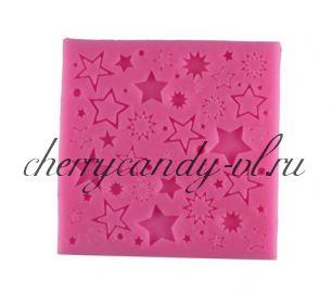 Молд для шоколада/мастики силиконовый Звезды