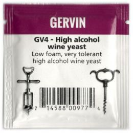 Винные дрожжи Gervin GV4 High Alcohol Wine NEW
