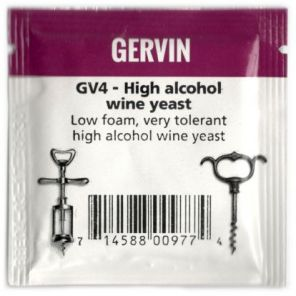 Винные дрожжи Gervin GV4 High Alcohol Wine NEW
