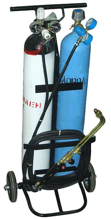 Тележка от комплекта газосварочного  ОСА-5 (баллоны 5л)