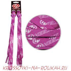 Шнурки Heelys Pink Logo 4275