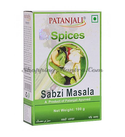 Сабжи Масала смесь специй для овощных блюд Патанджали (Divya Patanjali Aarogya Sabji Masala)