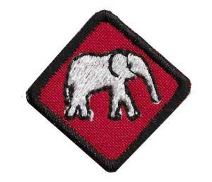 Одинокий слон