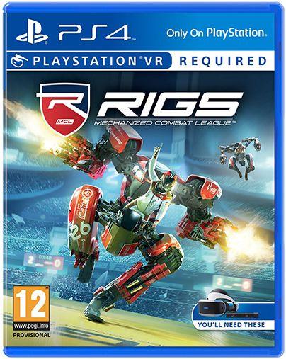 Игра Rigs: Mechanized Combat League (только для VR) (PS4, русская версия)