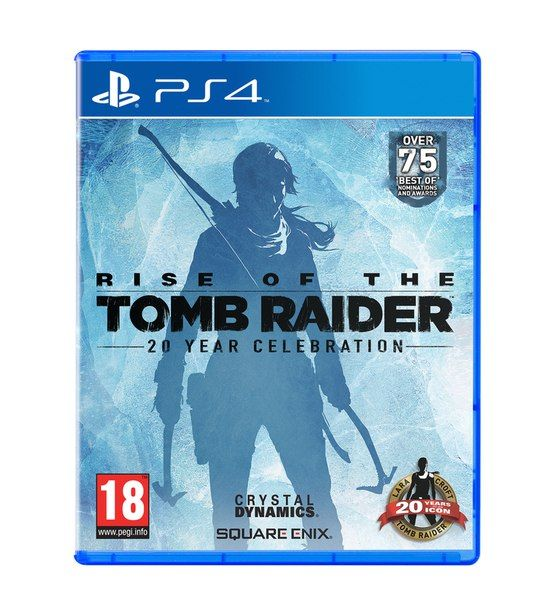 Игра Rise of The Tomb Rider 20 year celebration (PS4, PS VR)
