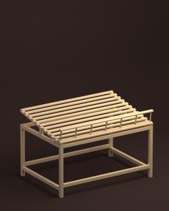 Арт. В017. Стол для хлеба средний