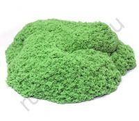 Кинетический песок зеленый