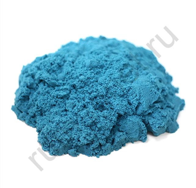 Кинетический песок синий