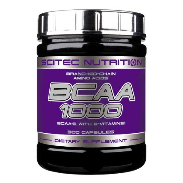 BCAA 1000 300 cap, Scitec Nutrition