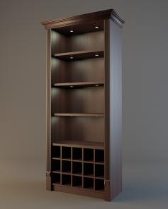 Шкаф для элитного алкоголя V017