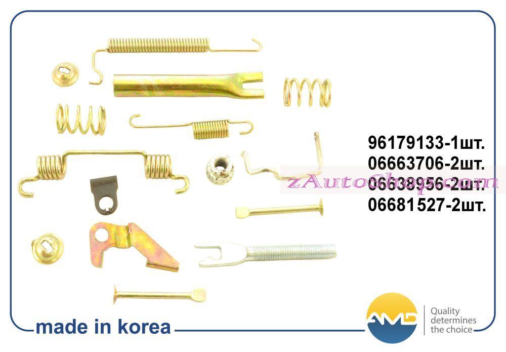 ремкомплект заднего тормозного механизма правого Daewoo Nexia, Lanos