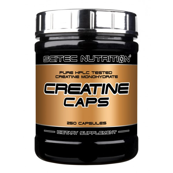 Creatine Caps, 250 капсул, от Scitec Nutrition